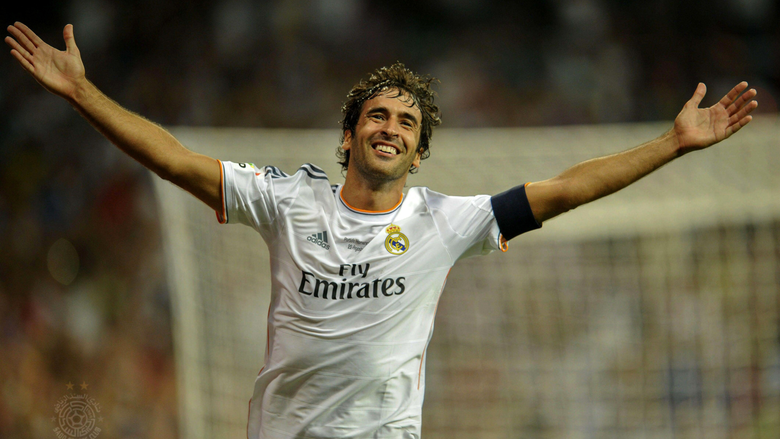 Screenshot №1 pro téma Raul Gonzalez Real Madrid 1600x900