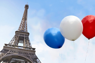 Eiffel Tower on Bastille Day - Fondos de pantalla gratis