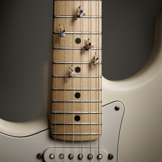Funny Guitar Picture for iPad 3