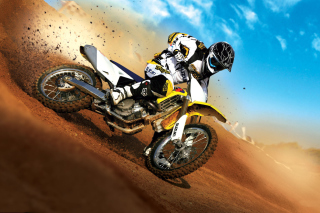 Suzuki Motocross Picture for Samsung I9080 Galaxy Grand