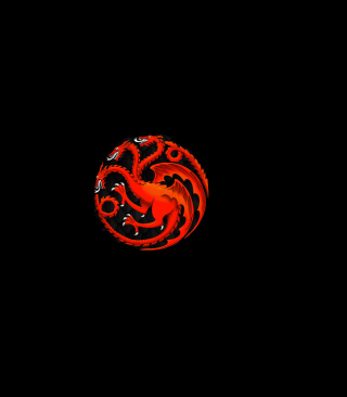 Fire And Blood Dragon - Obrázkek zdarma pro iPhone 4S