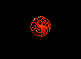 Fire And Blood Dragon - Obrázkek zdarma pro HTC One