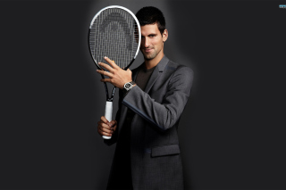 Novak Djokovic Background for Android, iPhone and iPad