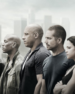 Free Fast and Furious 7 Picture for 240x320