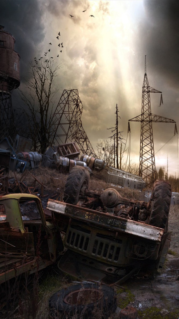 Screenshot №1 pro téma Breathtaking Post Apocalypse Artwork 360x640