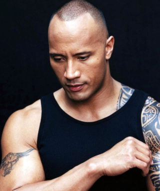 Dwayne Johnson Wallpaper for 240x320