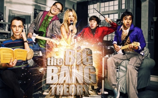 Big Bang Theory sfondi gratuiti per 1600x1200