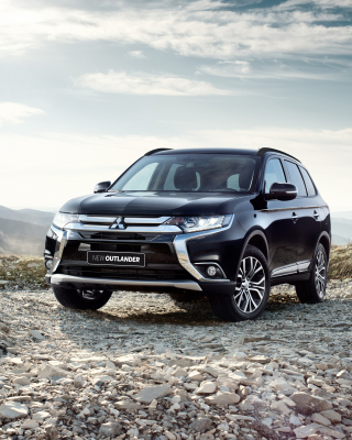 Mitsubishi Outlander BR spec 2015 sfondi gratuiti per iPhone 6 Plus