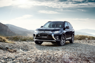Mitsubishi Outlander BR spec 2015 Wallpaper for Android, iPhone and iPad