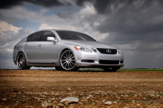 Lexus IS Background for Android, iPhone and iPad