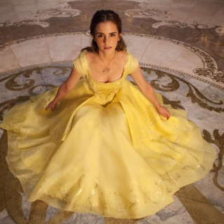 Emma Watson in Beauty and the Beast - Obrázkek zdarma pro iPad mini 2