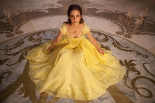 Emma Watson in Beauty and the Beast - Obrázkek zdarma pro Fullscreen Desktop 1024x768