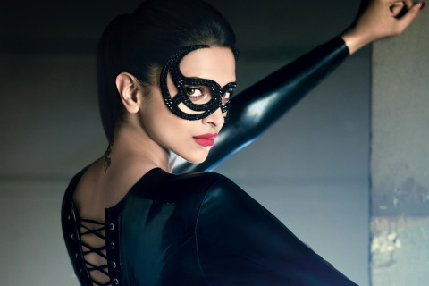 Screenshot №1 pro téma Deepika Padukone in Mask 480x320