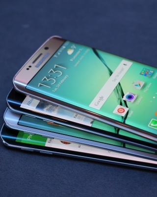 Kostenloses Galaxy S7 and Galaxy S7 edge from Verizon Wallpaper für Nokia X1-01