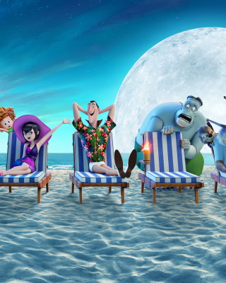 Hotel Transylvania 3 Summer Vacation Background for 240x320