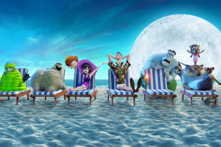 Kostenloses Hotel Transylvania 3 Summer Vacation Wallpaper für Samsung Galaxy S3