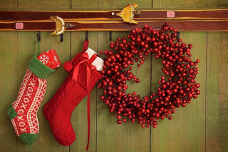 Merry Christmas Stockings - Fondos de pantalla gratis