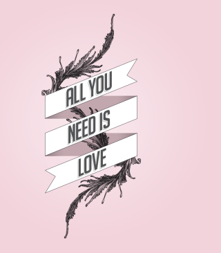 All You Need Is Love Wallpaper for iPhone 6 Plus