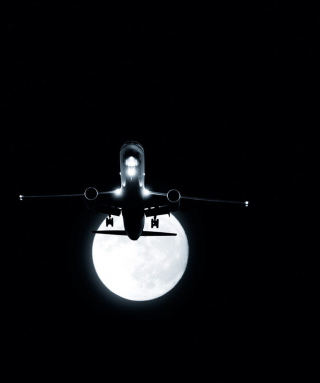 Night Flight Picture for 240x320