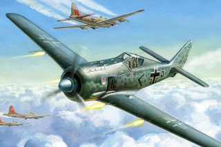 Focke Wulf Fw 190 Wallpaper for Android, iPhone and iPad