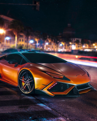 Free Lamborghini Huracan LP610 4 Spyder Picture for iPhone 5C