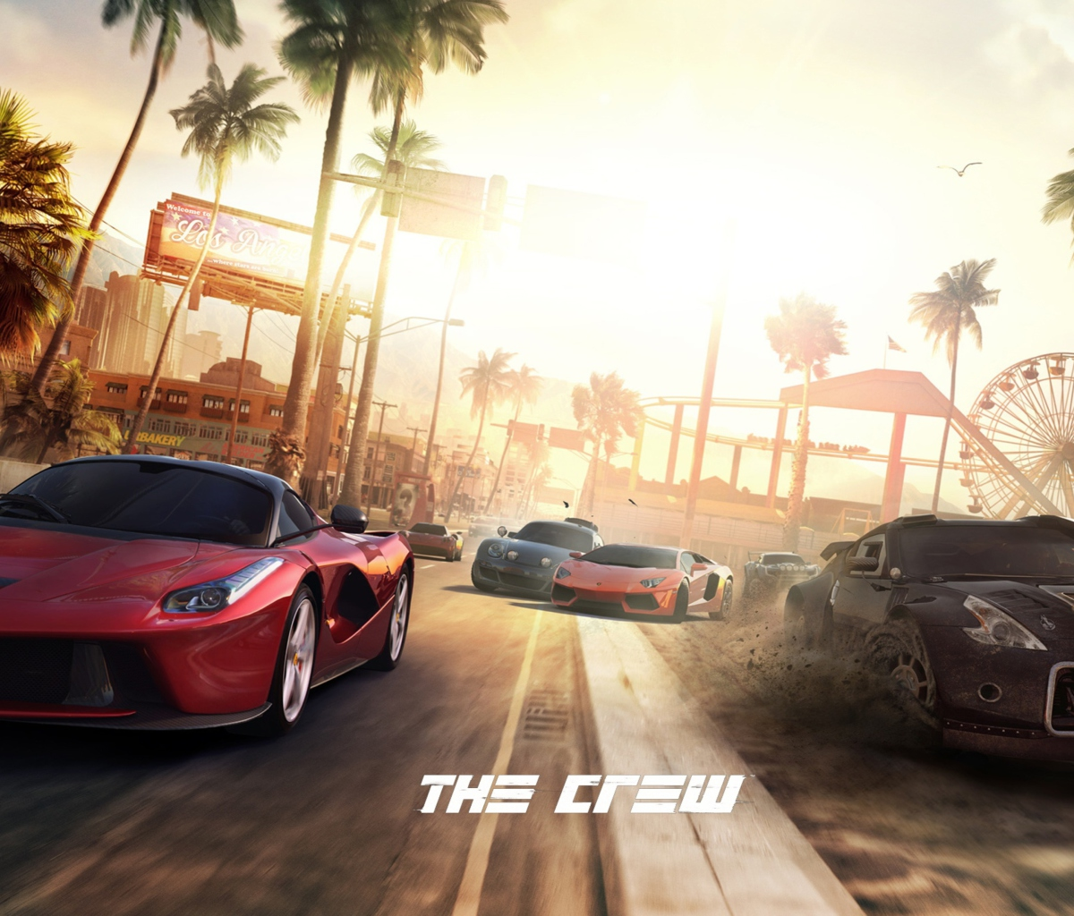 Screenshot №1 pro téma The Crew 1200x1024