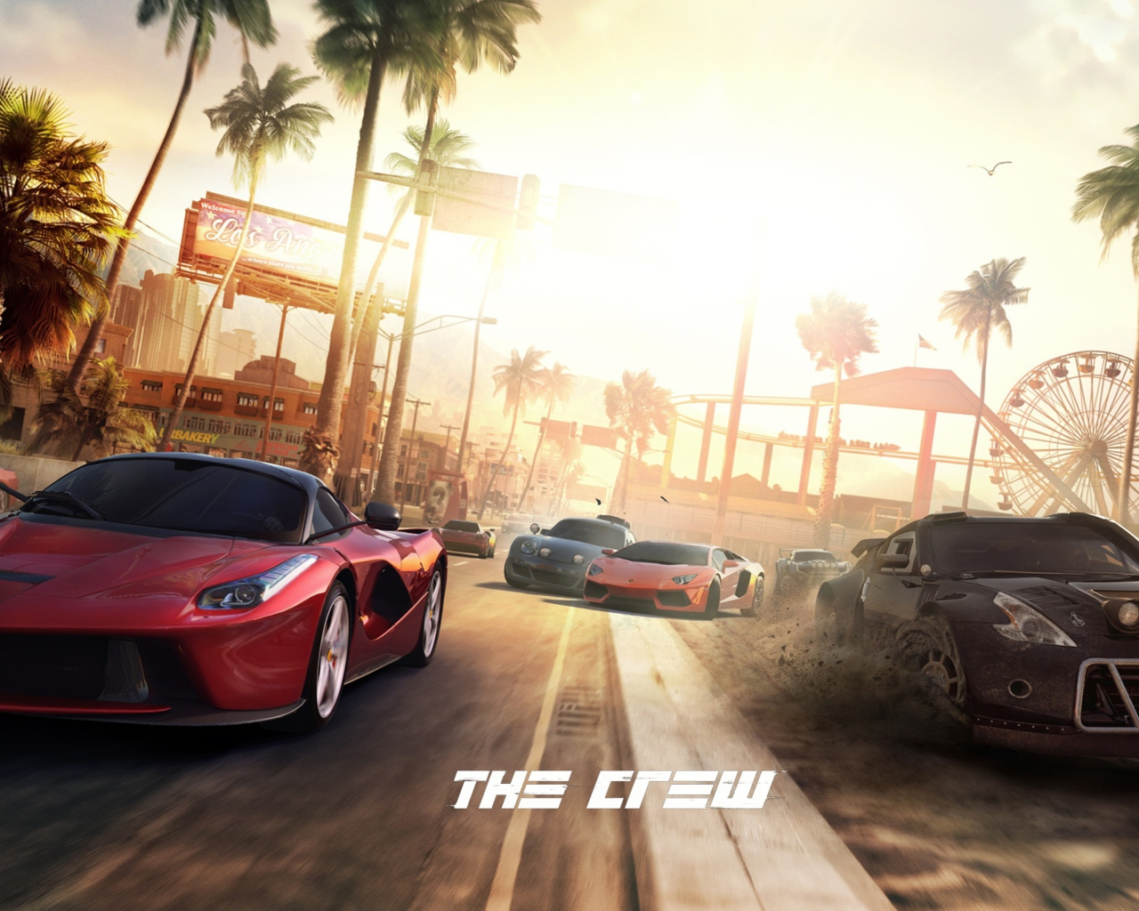 Screenshot №1 pro téma The Crew 1280x1024