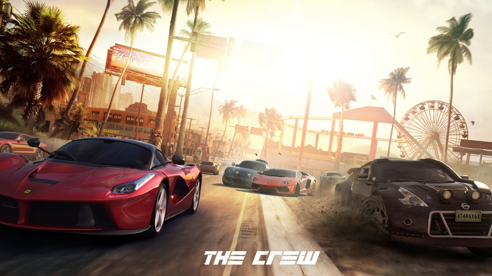 Screenshot №1 pro téma The Crew 1600x900