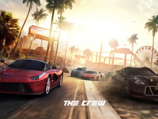 Screenshot №1 pro téma The Crew 320x240