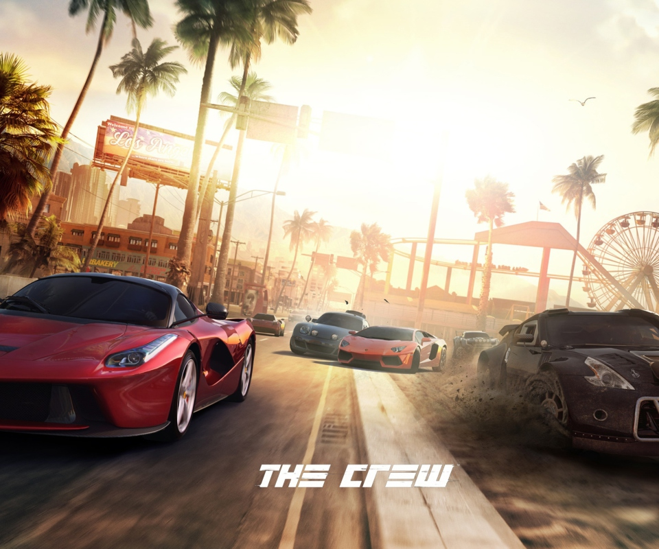 Screenshot №1 pro téma The Crew 960x800