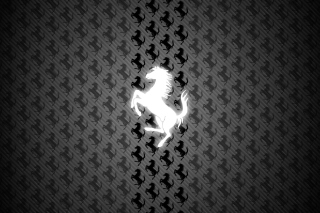 Ferrari Logo Background for Android, iPhone and iPad
