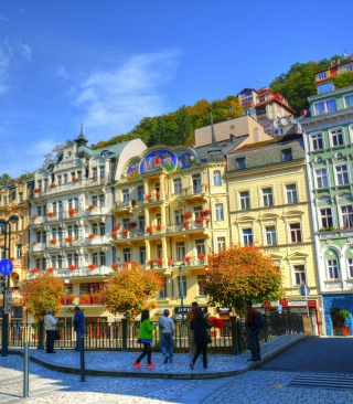 Karlovy Vary - Carlsbad Picture for Nokia C1-01