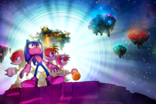 Sonic Friends sfondi gratuiti per cellulari Android, iPhone, iPad e desktop