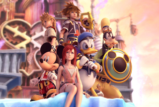 Kingdom Hearts sfondi gratuiti per cellulari Android, iPhone, iPad e desktop