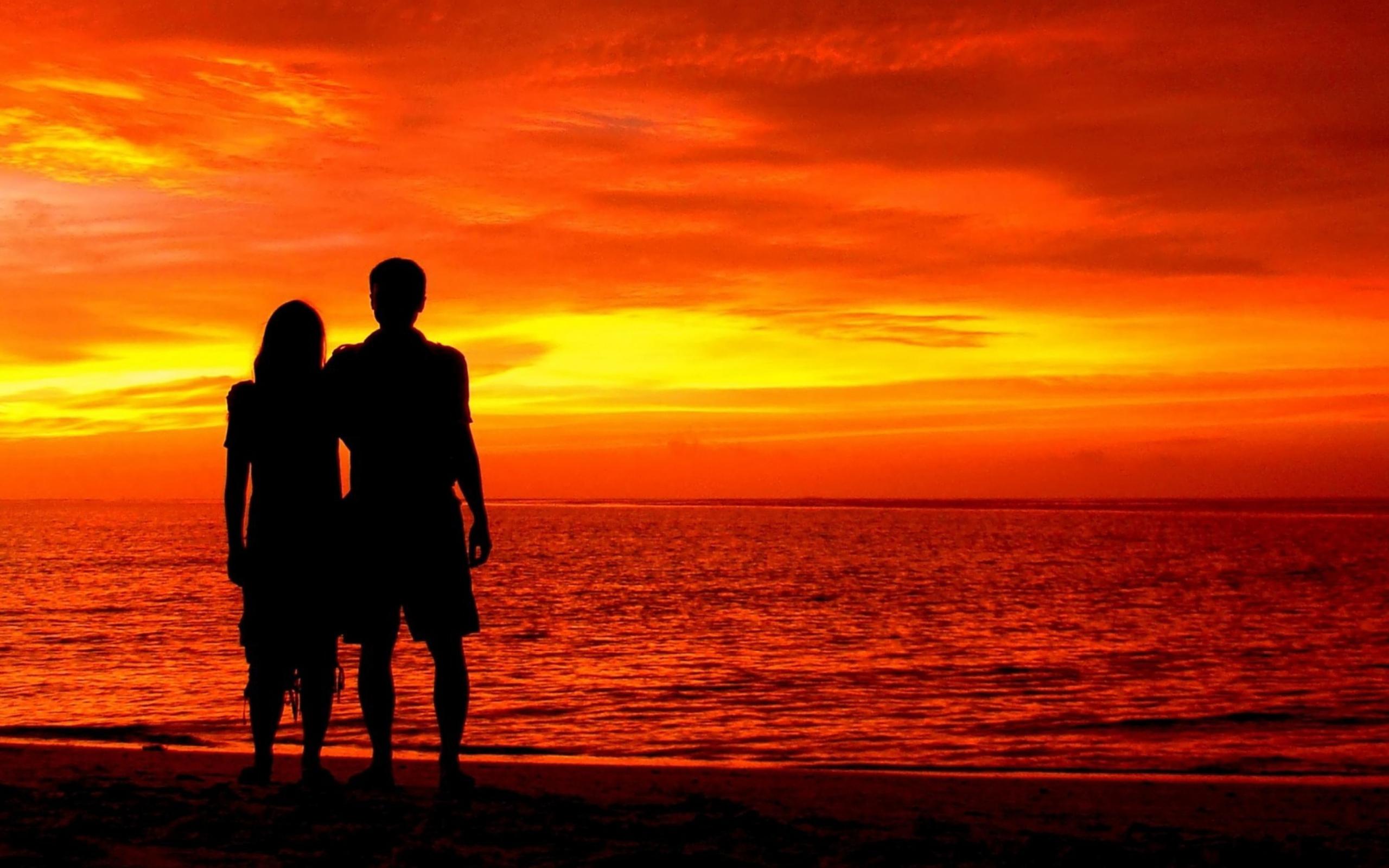 любовь закат love sunset бесплатно