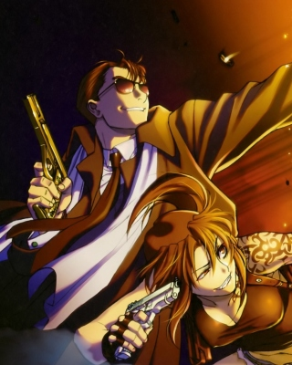 Black Lagoon Anime Characters Background for HTC Titan