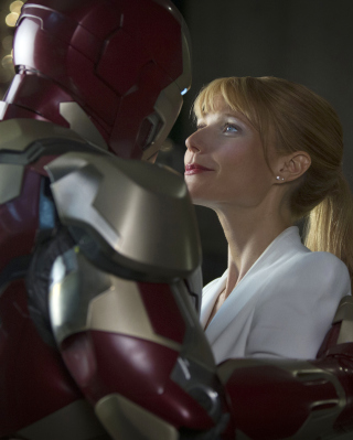 Iron Man And Pepper Potts sfondi gratuiti per Nokia Lumia 925