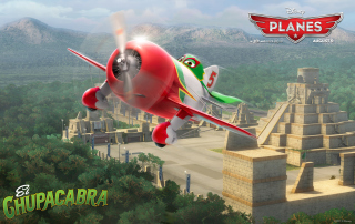 Disney Planes - El Chupacabra Background for Android, iPhone and iPad