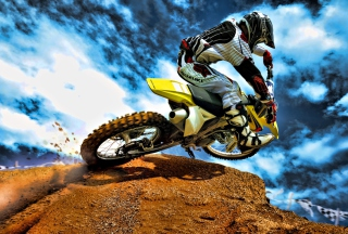 Free Motorcross Picture for Samsung Galaxy S5