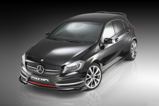 Mercedes A250 Piecha Tuning Front View Wallpaper for Android, iPhone and iPad