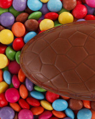 Easter Chocolate Egg Wallpaper for 768x1280