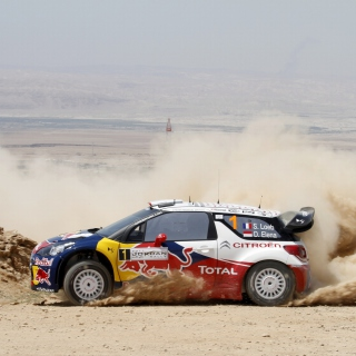 Citroen Racing WRC sfondi gratuiti per iPad mini