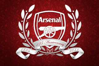 Arsenal FC Emblem Background for Android, iPhone and iPad