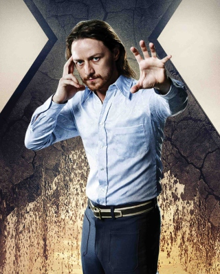 James McAvoy As Charles Xavier papel de parede para celular para Nokia Lumia 620