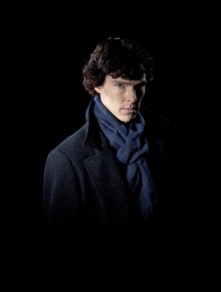 Sherlock Background for Nokia Asha 306