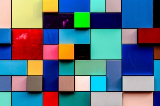 Colored squares Background for Android, iPhone and iPad