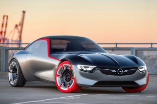 Opel GT Concept Background for Android, iPhone and iPad