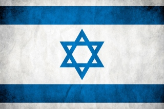 Israel Flag Background for HTC EVO 4G