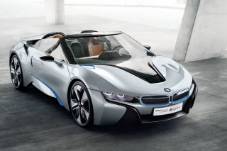 BMW i8 Hybrid Coupe Background for Android, iPhone and iPad