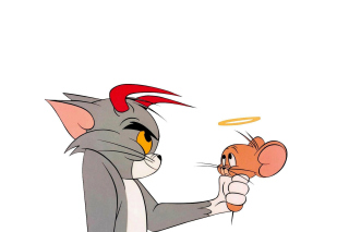 Tom and Jerry Background for Android, iPhone and iPad